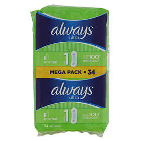Always Ultra Normal (34-pack)