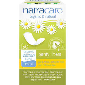 Natracare Mini Panty Liners (30-pack)
