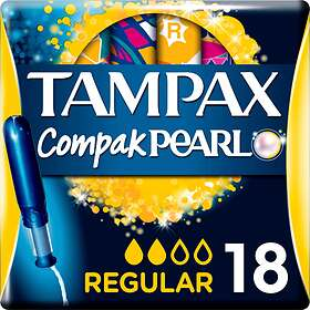 Tampax Compak Pearl Regular (18-pack)