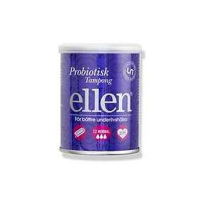Ellen Priobiotic Tampons Normal (12-pack)