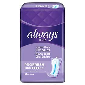Always Maxi Pro Fresh Long (12-pack)