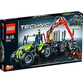 LEGO Technic 8049 Traktor Med Timmervagn