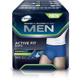 Tena Men Active Fit Pants M (12-pack)