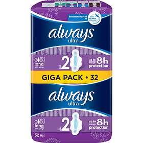 Always Ultra Long Wings (32-pack)