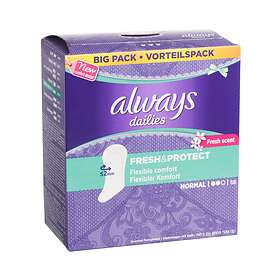 Always Dailies Fresh & Protect Normal (58-pack)