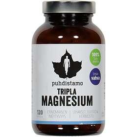 Puhdistamo Tripla Magnesium 120 Kapselit