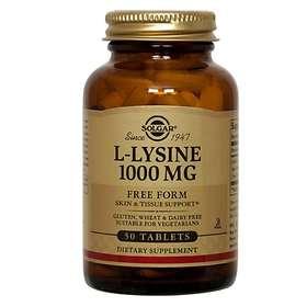 Solgar L-Lysine 1000mg 100 Tabletter