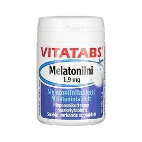 Vitatabs Melatoniini 1,9mg 60 Tabletit