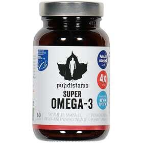 Puhdistamo Super Omega-3 60 Kapselit