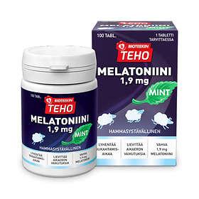 Bioteekin Teho Mint Melatoniini 1,9 mg 100 Kapselit