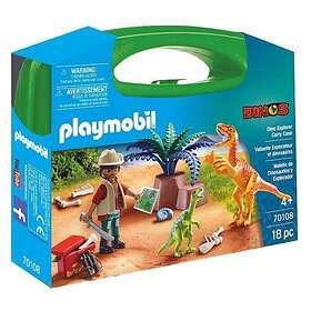 Playmobil Dinos 70108 Dino Explorer Carry Case L