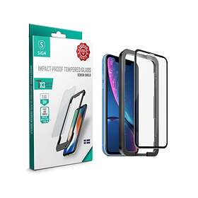 SiGN Full Body Tempered Glass for iPhone XR/11