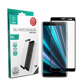 SiGN 3D Curved Full Body Tempered Glass for Sony Xperia XZ3