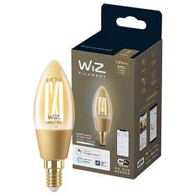 WiZ Smart LED Whites Filament Amber C35 370lm 2000-5000K E14 5W