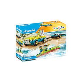 Playmobil Family Fun 70436 Beach Car with Canoe