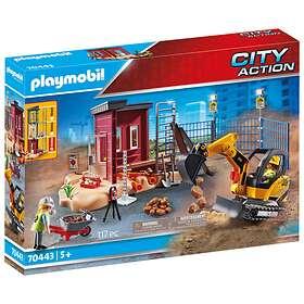 Playmobil City Action 70443 Mini Pelleteuse Et Chantier