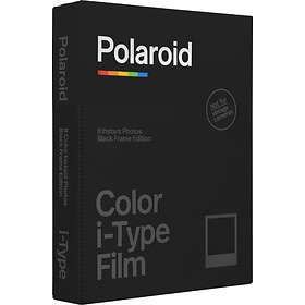 Polaroid Originals Color i-Type Film Black Frame Edition 8-Pack