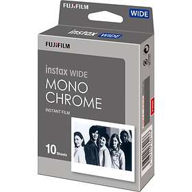 Fujifilm Instax Wide Film Monochrome 10-Pack
