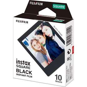 Fujifilm Instax Square Film Black Frame 10-pack