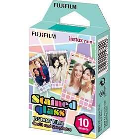 Fujifilm Instax Mini Film Stained Glass 10-pack