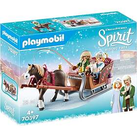 Playmobil Spirit 70397 Vinterslädtur