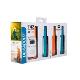 Motorola Talkabout T42 (4-pack)