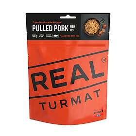 Real Turmat Pulled Pork With Rice 500g