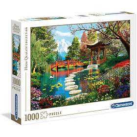 Clementoni Palapelit High Quality Collection Japanese Garden 1000 Palaa