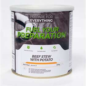 Fuel Your Preparation Beef and Potato Stew Tin 600g