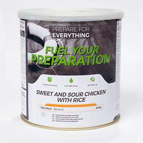Fuel Your Preparation Sweet and Sour with Rice Tin 800g