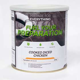 Fuel Your Preparation Cooked Diced Chicken Tin 600g