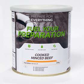 Fuel Your Preparation Cooked Minced Beef Tin 800g