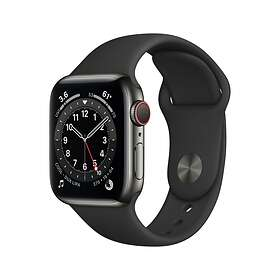 Apple Watch Series 6 4G 40mm Stainless Steel with Sport Band