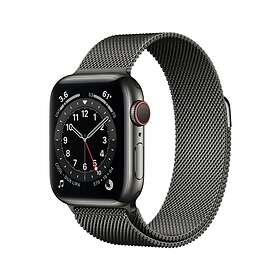Apple Watch Series 6 4G 40mm Stainless Steel with Milanese Loop