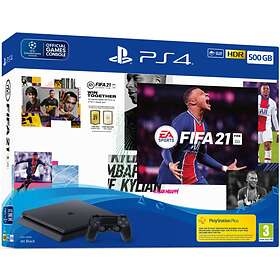 Sony PlayStation 4 (PS4) Slim 500GB (incl. FIFA 21)