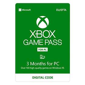 Microsoft Xbox Game Pass 3 Months Card for PC