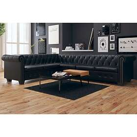 Trademax Be Basic Chesterfield Canapé d'angle (6-places)