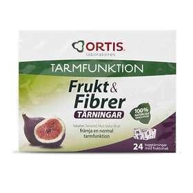 Ortis Frukt & Fibrer 24 st tärningar