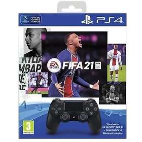 Sony DualShock 4 V2 (inkl.FIFA 21) (PS4)