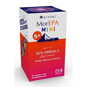 Minami Nutrition MorEPA Mini Smart Fats 85% Omega-3 60 Capsules