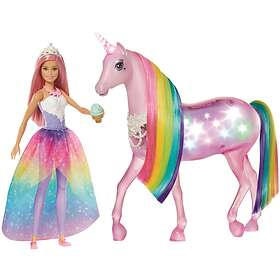 Barbie Dreamtopia Magical Lights Unicorn (FXT26)