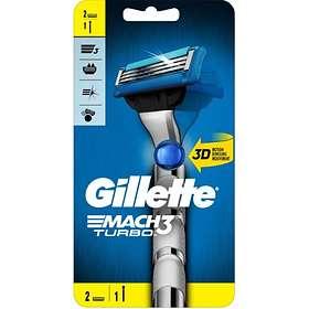 Gillette Mach 3 Turbo 3D (+2 Vaihtoterää)