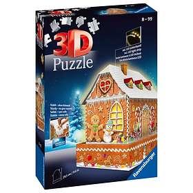 Ravensburger 3D Gingerbread House 216 Palaa