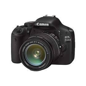Canon EOS 550D + 18-135/3,5-5,6 IS