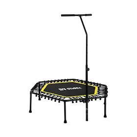 Gymrex Fitness Trampoline Med Handgrepp