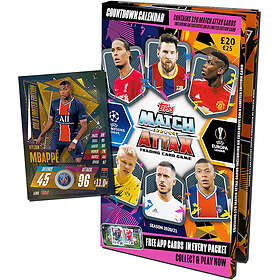 Topps Match Attax UEFA Champions League Julekalender 2020/21