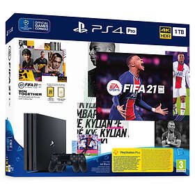 Sony PlayStation 4 (PS4) Pro 1TB (inkl. FIFA 21 + 2nd Dualshock)