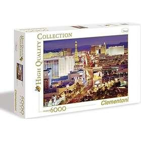 Clementoni Palapelit High Quality Collection Las Vegas 6000 Palaa