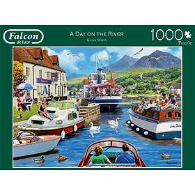 Falcon de Luxe Palapelit A Day On The River 1000 Palaa