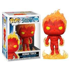 Funko POP! Marvel Fantastic Four 559 Human Torch